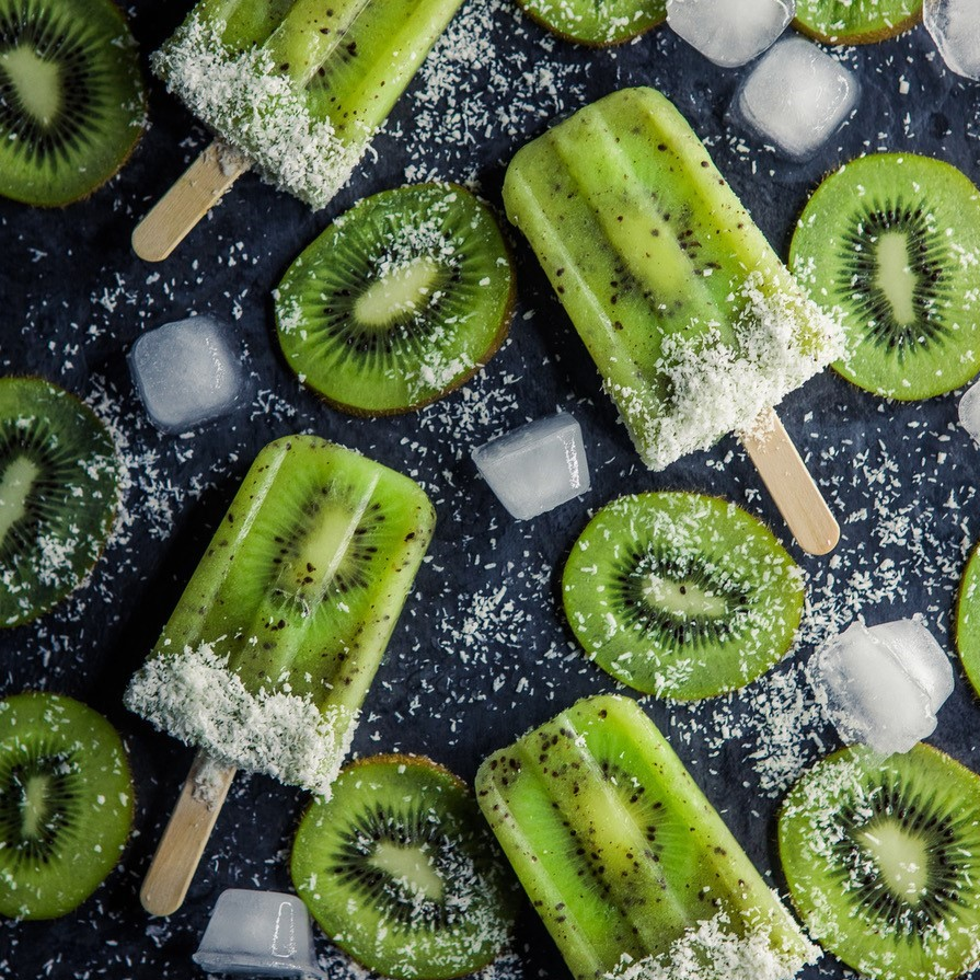 Oscar® kiwi fruits ice cream