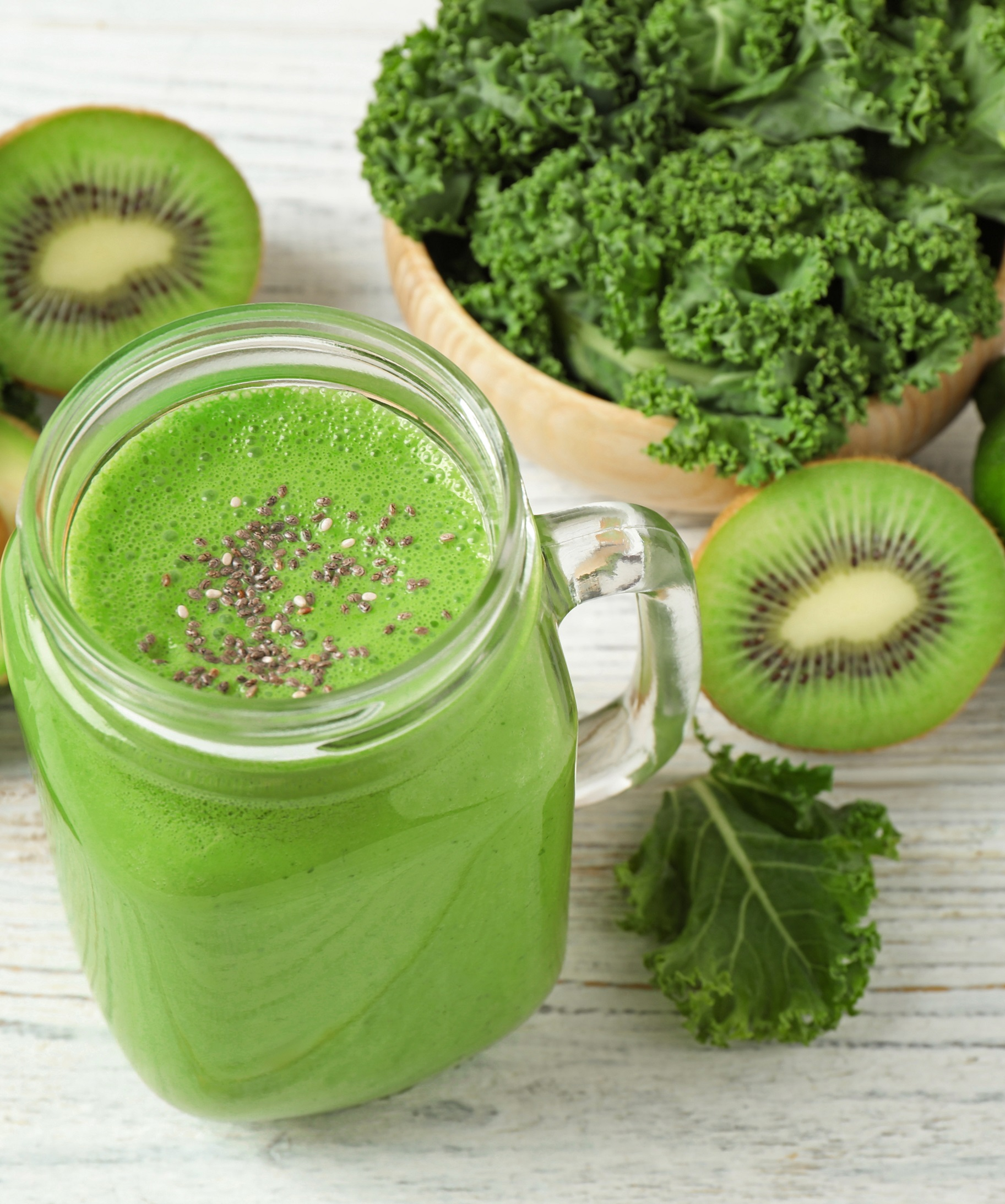 Oscar® Kiwi and kale Green Smoothie