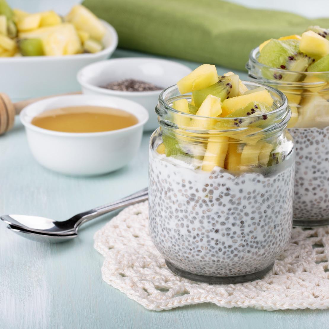 Chia pudding with Oscar® kiwi fruits