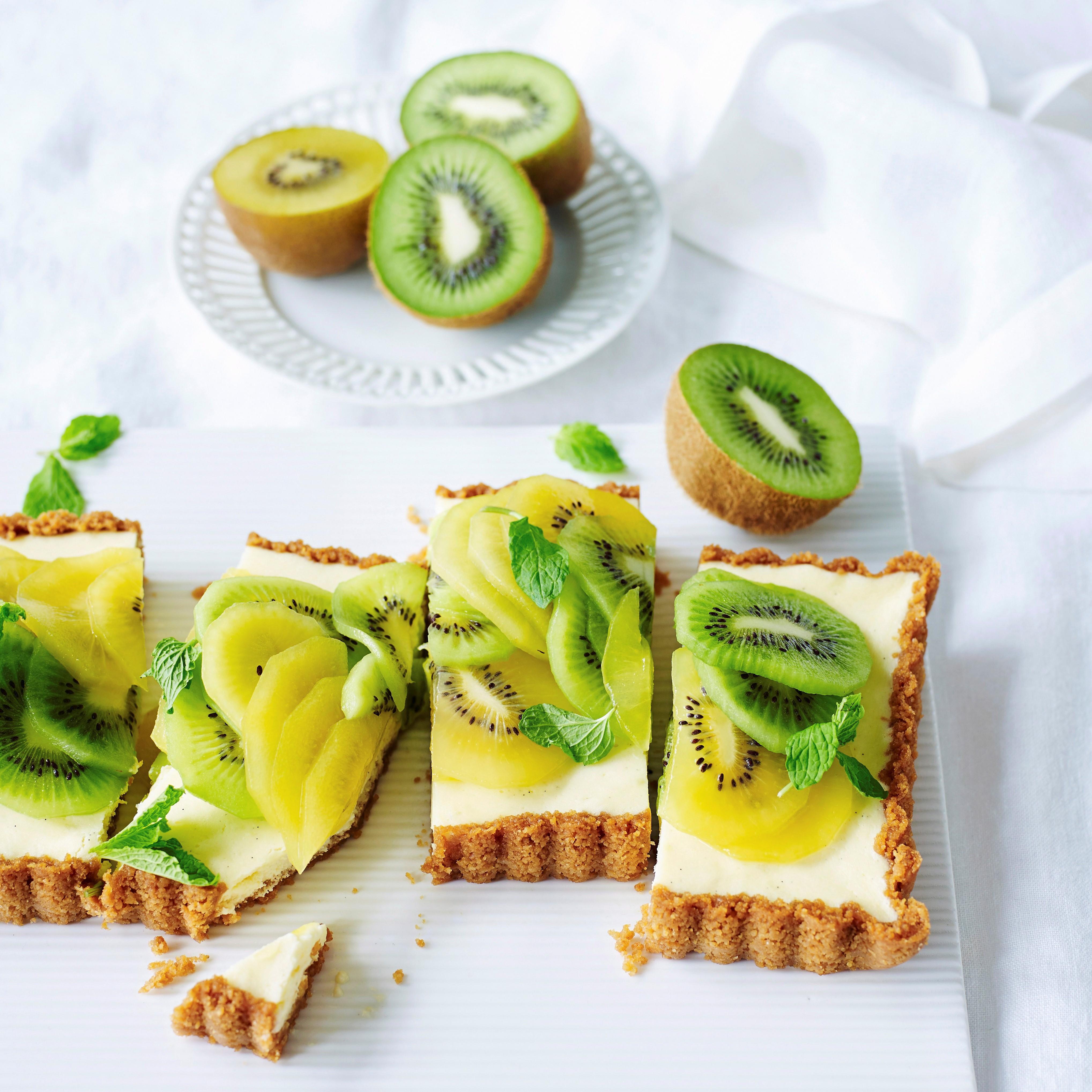 Oscar® Kiwi cheesecake