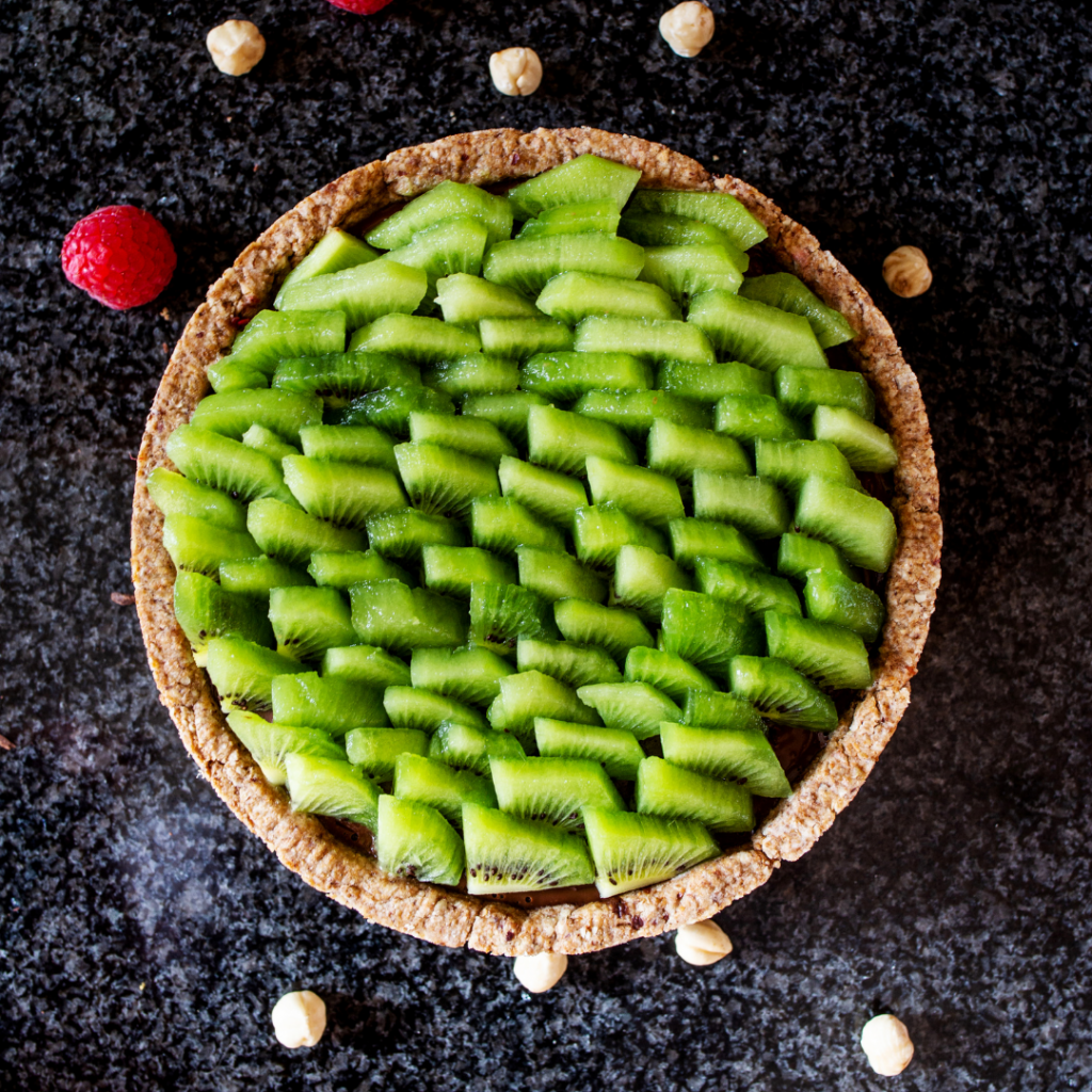 No-bake Oscar Kiwi Fruit Tart